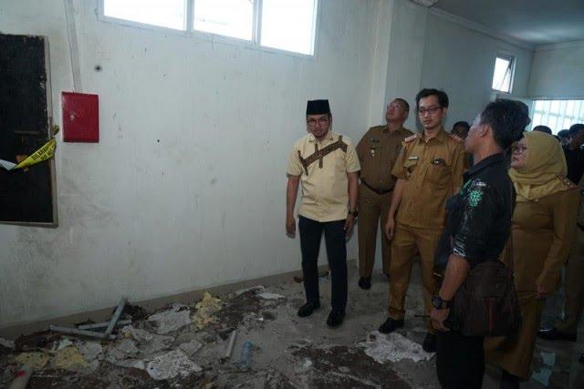 Kebakaran di RSUD Bangkalan, Jawa Timur. Foto: Medcom.id/Sumenep